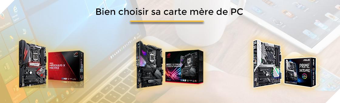 bien choisir sa carte mère de PC